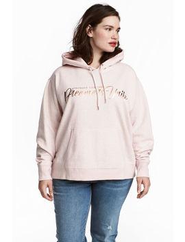 H&M+ Printed Hooded Top by H&M