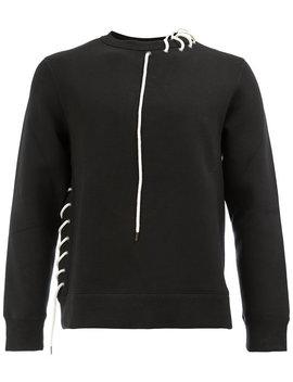 Drawstring Detail Sweatshirthome Men Clothing Sweatshirts by Craig Green