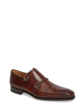 Ramola Double Strap Monk Shoe by Magnanni