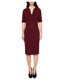 Jesabil Belted Sheath Dress by Ted Baker