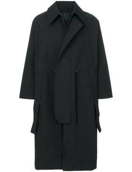 Long Length Coathome Men Clothing Single Breasted Coats by Craig Green