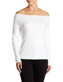 Pure Cut Off The Shoulder Pullover by Wolford