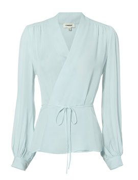 Cara Wrap Blouse by L'agence