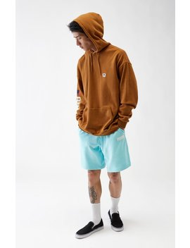 Logo Tower Light Blue Sweat Shorts by Puma