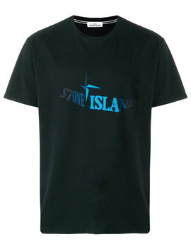 Distorted Logo T Shirthome Men Clothing T Shirtslogo Embossed Low Top Sneakersdistorted Logo T Shirt by Stone Island