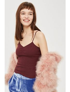 Iris Ruch Front Vest Top by Topshop