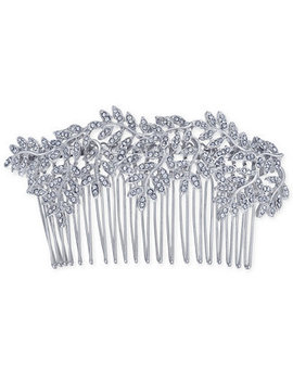 I.N.C. Silver Tone Pavé Vine Hair Comb, Created For Macy's by Inc International Concepts
