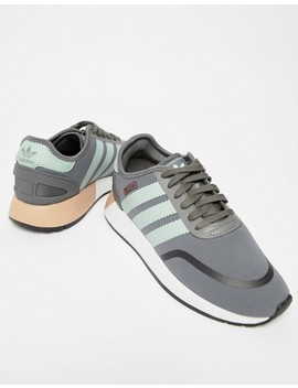 Adidas Originals N 5923 Runner Trainers In Grey And Mint by Adidas