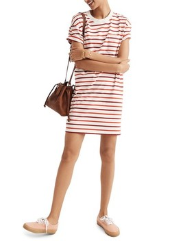 Stripe Pocket T Shirt Dress by Madewell