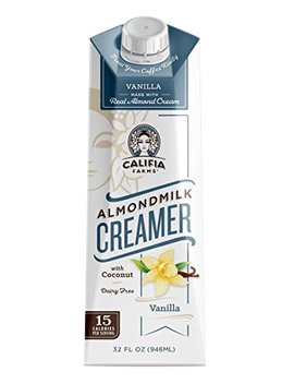 Califia Farms Almondmilk Coffee Creamer, Vanilla, 32 Ounce by Amazon