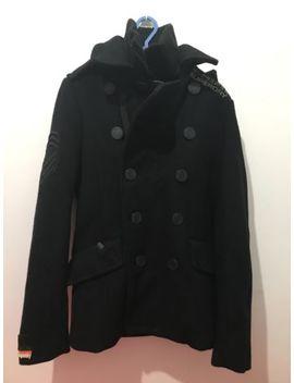 Men's Boys Super Dry Jacket Blazer Coat Black Size Small by Ebay Seller