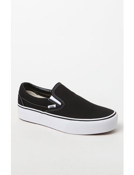 Women's Slip On Platform Sneakers by Vans