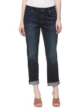 Transcend Vintage   Brigitte Crop Boyfriend Jeans by Paige