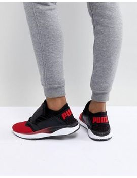 Puma Tsugi Shinsei Sneaker In Red And Black by Puma