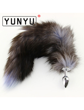 1 Pcs Metal Anal Toys Fox Tail Anal Plug Erotic Toys Butt Plug Sex Toys For Woman And Men Sexy Butt Plug Adult Sex Toy by Yunyu