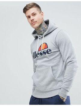 Худи серого цвета с классическим логотипом Ellesse by Asos