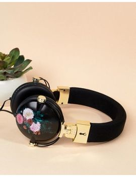 Typo Floral Tune Out Headphones by Typo