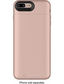 Juice Pack External Battery Case With Wireless Charging For Apple® I Phone® 7 Plus And 8 Plus   Rose Gold by Mophie