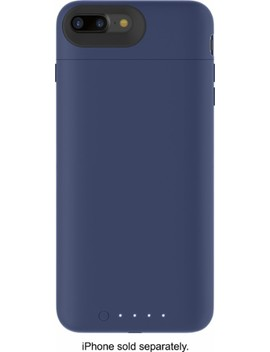 Juice Pack External Battery Case With Wireless Charging For Apple® I Phone® 7 Plus And 8 Plus   Blue by Mophie