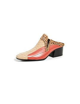 Karmir Multi Mules by Acne Studios