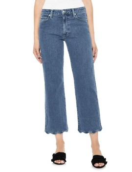 Fashion Flare Wavy Hem Crop Jeans by Joe's