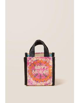 Xs Happy Birthday Recycle Bag by Francesca's