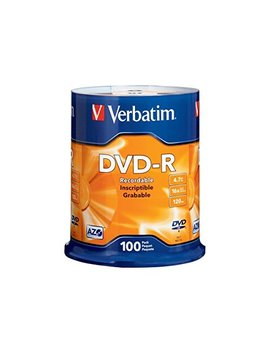 Verbatim Dvd R 4.7 Gb 16x Azo Recordable Media Disc   100 Disc Spindle by Verbatim
