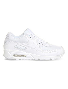 Air Max 90 Leather Trainers by Nike