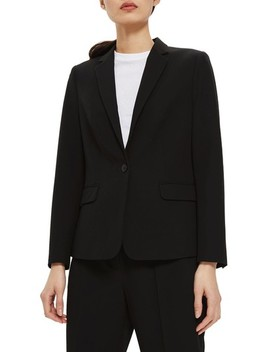 Single Breasted Suit Jacket by Topshop