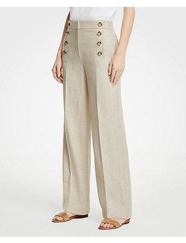 Wide Leg Sailor Pants by Ann Taylor