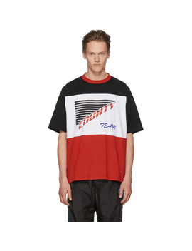 Multicolor 'county Team' T Shirt by Marcelo Burlon County Of Milan