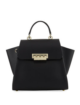 Eartha Iconic Top Handle Bag, Black by Zac Zac Posen