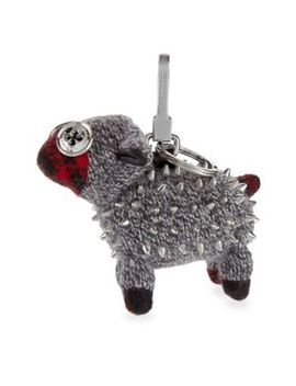 Studded Sheep Bag Charm by Burberry
