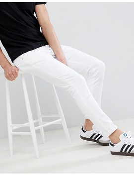 River Island Skinny Jeans In White by River Island