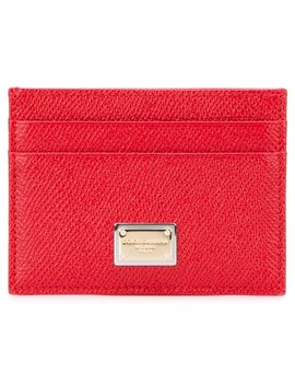 'dauphine' Cardholder Home Women Accessories Wallets & Purses by Dolce & Gabbana