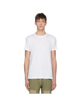 White Classic T Shirt by John Elliott