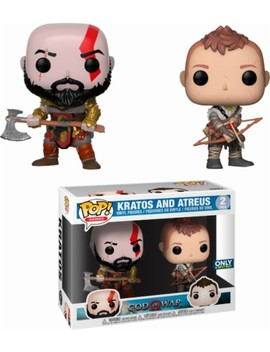 Pop! Games: God Of War   Kratos And Atreus by Funko