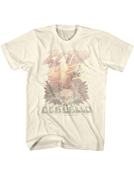 American Classics Zz Top Rock Band Music Group Vintage Style Deguello Faded Logo Adult T Shirt Tee by American Classics