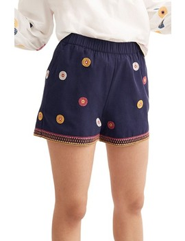 Embroidered Pull On Shorts by Madewell