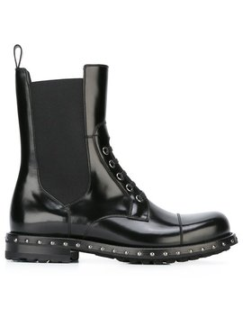 Utility Bootshome Women Shoes Boots by Dolce & Gabbana