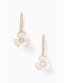 disco-pansy-drop-earrings by kate-spade