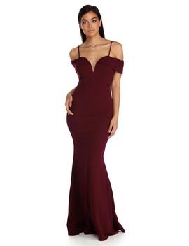 Laurel Off The Shoulder Formal Dress by Windsor