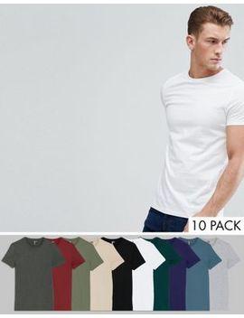 10 футболки с круглым вырезом Asos Design   СКИДКА by Asos