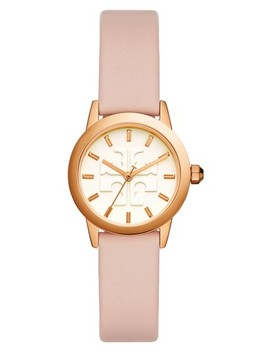 Gigi Leather Strap Watch, 28mm by Tory Burch