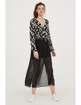 Petite Fit Maxi Skirt by H&M