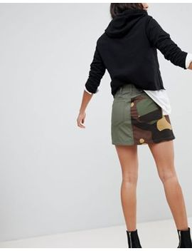 G Star Camoflage Combat Skirt by G Star