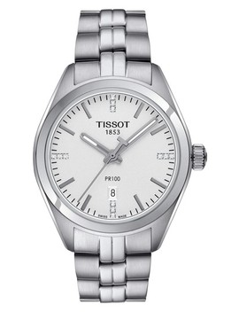 Pr100 Diamond Bracelet Watch, 33mm by Tissot