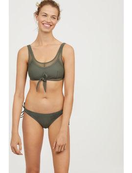 Bikinitop Aus Mesh by H&M