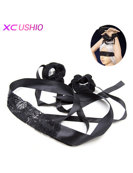 Adult Games Bdsm Bondage Blindfold Blinder Eye Mask Role Play Erotic Slave Sex Toys For Couples Fetish Restraint For Woman by Xc Ushio