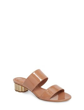 Belluno Double Band Slide Sandal by Salvatore Ferragamo